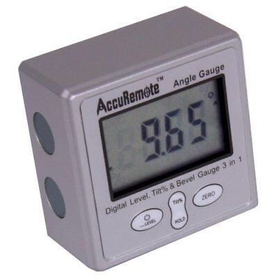 AccuRemote Digital Electronic Magnetic Angle Gage Level / Protractor / Bevel