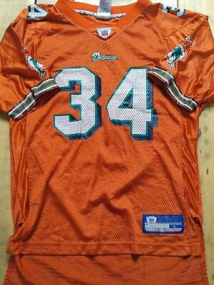 Maillot Trikot Jersey Foot Américain Nfl Us Ricky Williams Miami Dolphins S