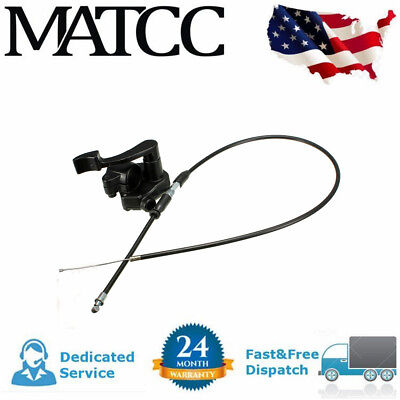 7/8'' Throttle Lever Thumb Controller Assembly Cable Quard Atv Bike 50~110Cc Usa