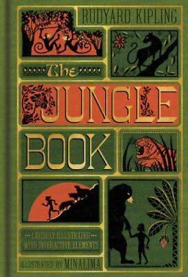 The Jungle Book (Illustrated with Interactive Elements) 9780062389503