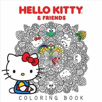 Hello Kitty & Friends Coloring Book by Various 9781421592749 (Paperback, 2017)