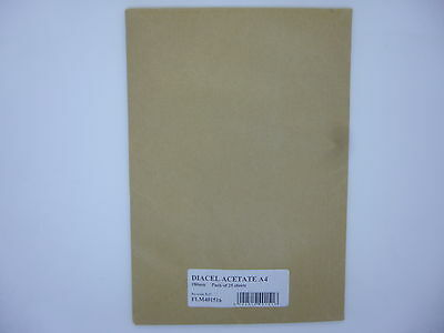 A4 Animation Cel Acme PUNCHED or UNPUNCHED 25 sheets Acetate sheets