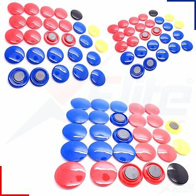 Precision Training Spare Magnets for Soccer Football Tactic Boards 27pc