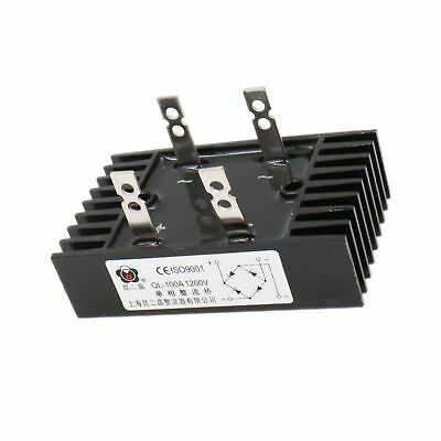 Baomain 100A Amp 1600V Volt Diode Bridge Rectifier Metal QL100A