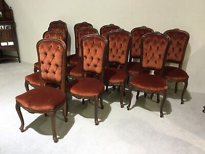 Set Of 12 Dining Chairs French Dining Chairs Rare to find 12