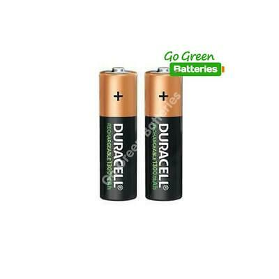 2 x Duracell AA 1300 mAh STAY CHARGE Rechargeable Batteries NiMH HR6 ACCU phone