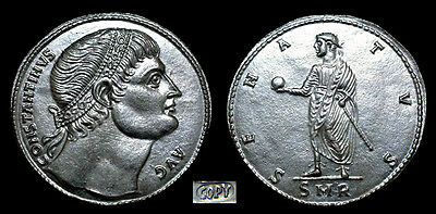 Constantine the Great 307-337AD Medallion 34mm./15.1gm. Silver
