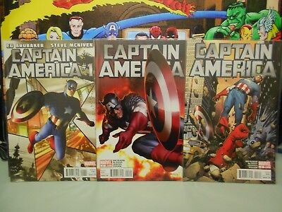 Captain America Vol 6  #1-19 Full Set (2011-2012)