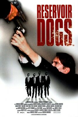 RESERVOIR DOGS - CLASSIC MOVIE POSTER 24x36 - ONE SHEET 2494