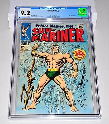 Sub-Mariner 1 CGC 9.2 OW/W Pages 1968