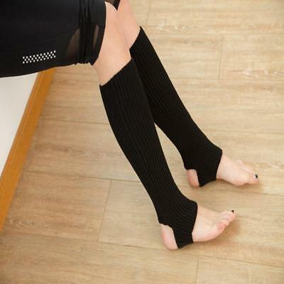 Women Ballet Dance Yoga Leg Warmers Gymnastics Protective Gear NEW - L