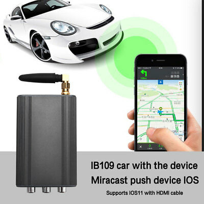 WIFI Miracast Pusher Car Screen Mirror Box Display For iOS Android Phone