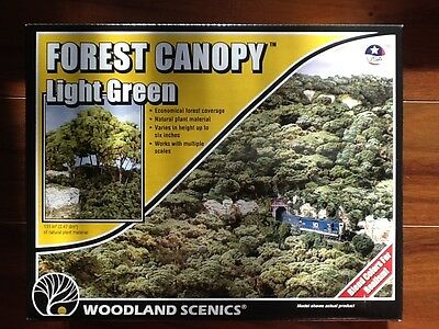 Woodland Scenics Forest Canopy Light Green Item # F1660 Factory Sealed