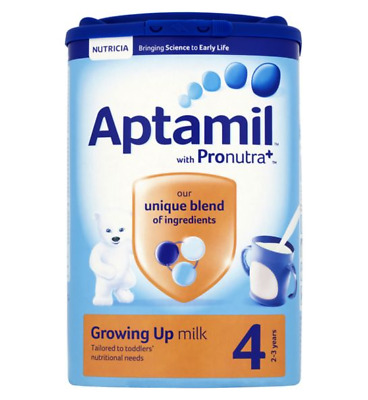 Aptamil with Pronutra+ Growing Up Milk 4 2-3 years 800g  pack of 6 (same new pac