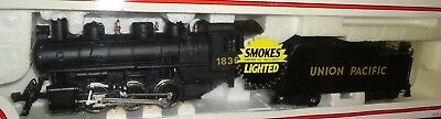 HO scale Bachmann Union Pacific RR 2-6-2 steam locomotive  w/ smoke  5501