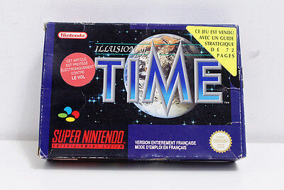Super Nintendo Snes - Illusion of Time (SFRA) BOITE SEULE
