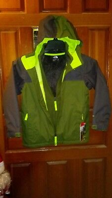 NWT $150 THE NORTH FACE BOYS' Chimborazo TriClimate 3 In 1 Jacket Youth SMALL