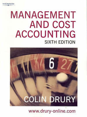 Management and cost accounting by Colin Drury (Paperback)