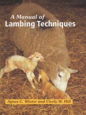 A Manual of Lambing Techniques by Agnes C. Winter 9781861265746 (Hardback, 2003)