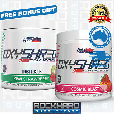 EHPLabs OxyShred Twin Pack Oxy Shred Ultra Thermogenic Fat Burner Weight Loss