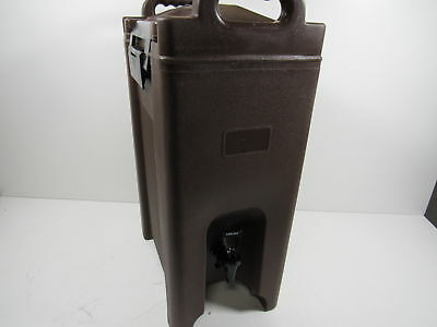 Carlisle XT500001 Cateraide Insulated Beverage Server Dispenser, 5 Gallon, Brown