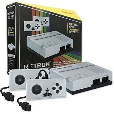 Hyperkin RetroN 1 Gaming Console - Silver [New Games] Universal Game