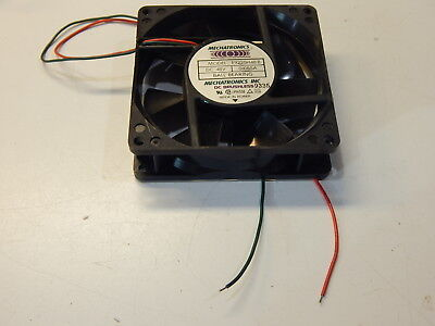 Mechatronics E9225H48B 48Vdc 48V Dc Fan 0.085A Brushless