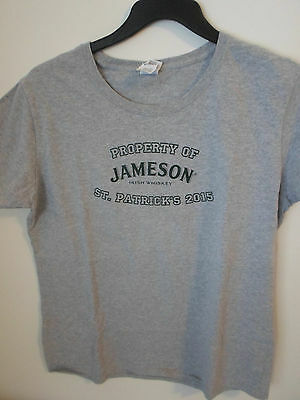 Jameson Irish whiskey st. patricks day 2015  whiskey Gray T Shirt XL
