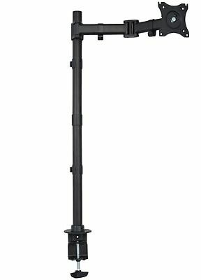 VIVO Single Monitor Desk Mount Extra Tall Fully Adjustable Stand for up to 27""