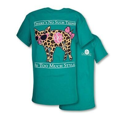 2010c3b6401 SOUTHERN COUTURE CLASSIC Preppy Leopard Camper T-Shirt -  19.99 ...