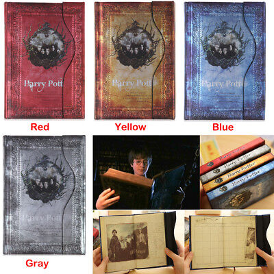 Movie Harry Potter Vintage Diary Planner Journal Book Agenda Notebook Notepad