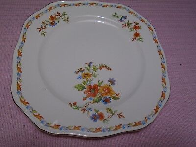 Alfred Meakin Churchill Plate Souvenir of First Cargo China Ware  Vintage