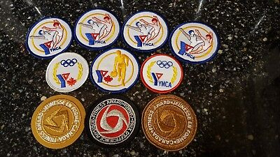 Nice lot of YMCA patches badges