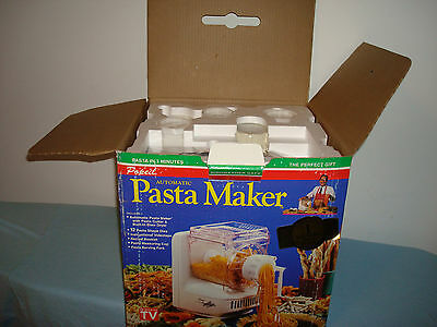 Automatic Pasta Sausage Maker Machine POPEIL12 Dies Model P 400