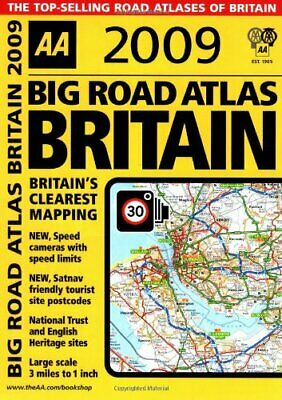 AA Big Road Atlas Britain (AA Atlases and Maps)... by AA Publishing Spiral bound