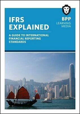 Ifrs Explained (Study Text) by Bpp Learning Media Book The Cheap Fast Free Post