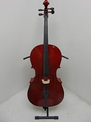 Student 4/4 Size Cello with Case by Gear4music - COSMETIC WEAR - RRP £229.99