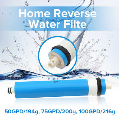 Reverse Osmosis RO Membrane Element Water Filter System 50 75 100 GPD Kitchen