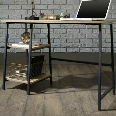 Retro Industrial Desk Office Furniture Vintage Metal Writing Console Hall Table