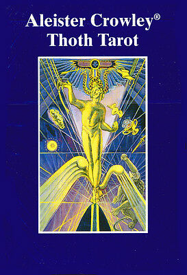 Crowley Thoth Tarot Deluxe / De Luxe - large sized deck 9.5x14cm, AGM, brand NEW