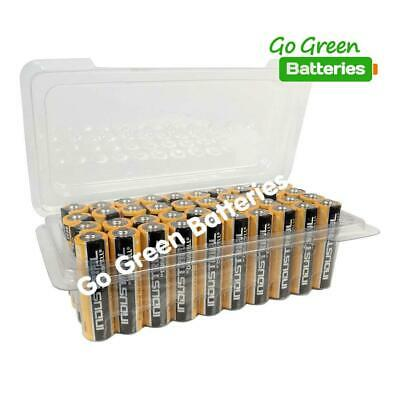 40 x Duracell AA Industrial Alkaline Batteries 1.5V LR6 MN1500 Procell 2023 exp.