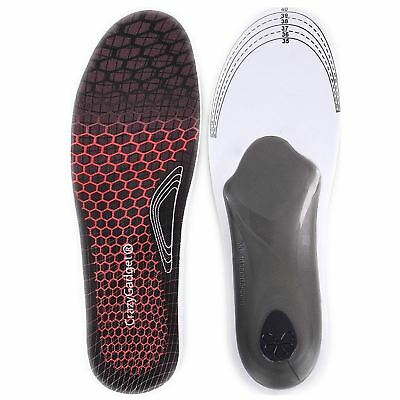 Premium 3D Orthotic High Arch Support Comfort Foot Heel Cushion Shoes Insoles