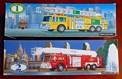 BP First Series Fire Truck 1996 & Sunoco Second Series 1995 Collector's Edition