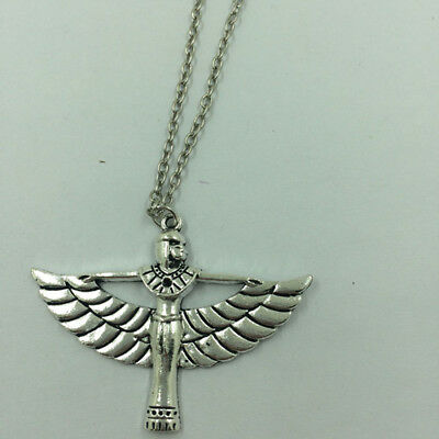 Ancient Egyptian Queen Angels Necklace