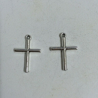 12pcs ancient silver alloy charm pendant  The cross  23x16mm