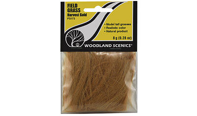 "Woodland Scenics Harvest Gold Field Grass 2-1/2"" in Length  Item # FG172 F/S"