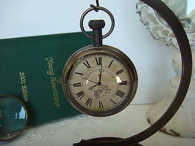 """Authentic Models ~ SC058 ~Victorian """"Pocket"""" Watch *Aged Brass* 2"""" x 3"""" x .5"""""""