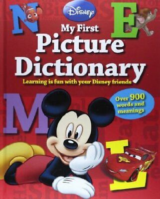 Disney My First Picture Dictionary (Disney First Reference), New,  Book