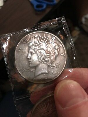 1922 Batman Coin Peace Dollar