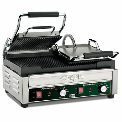 Waring Italian Ottimo Dual Sandwich Ribbed Panini Grill CONTACT FOR SHIPPING